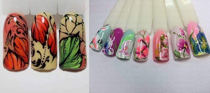 Гель-краска для дизайна ногтей