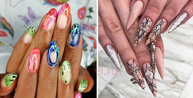 Какая форма длинных ногтей в тренде