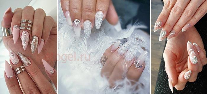 Какие должны быть ногти у невесты