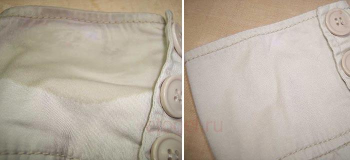 Как отмыть гель лак с ткани