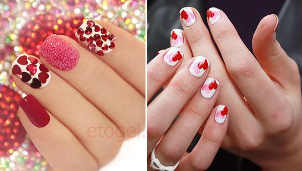 Чем сделать сердечки на ногтях