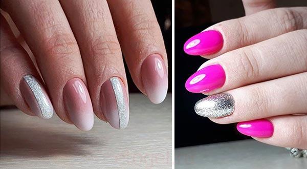 Блики на ногтях